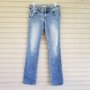 Paige Jimmy Jimmy Distressed Skinny Jeans Size 25